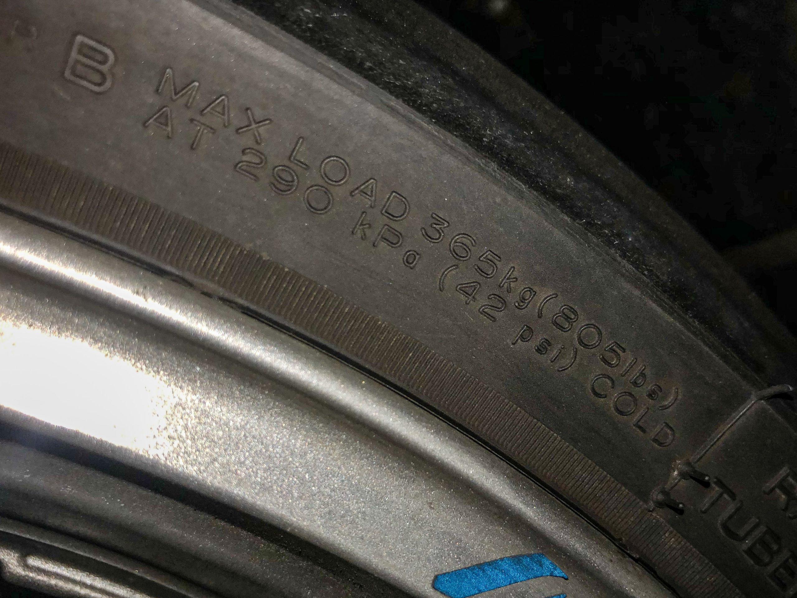 バイク_燃費悪化_空気圧